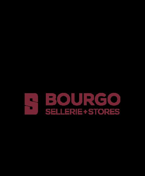 Logo de l'entreprise Bourgo – Sellerie + Stores située à Bulle dans le canton de Fribourg