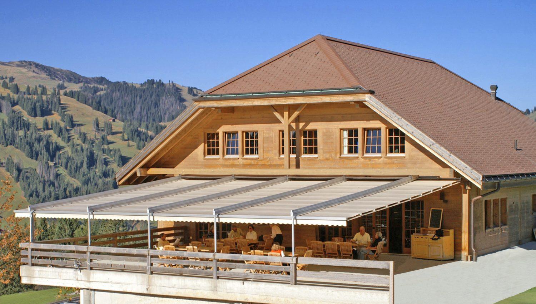 Velum Zermatt sur un hôtel