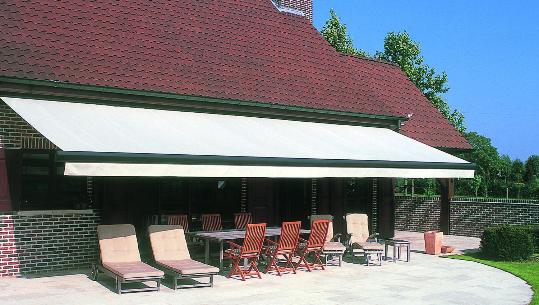 Colorado non-coffre sur une terrasse
