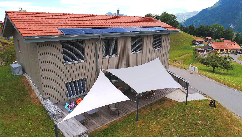 Voile d'ombrage pour les terrasses