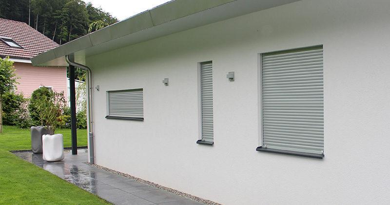 Volets roulants en aluminium pour fenêtres